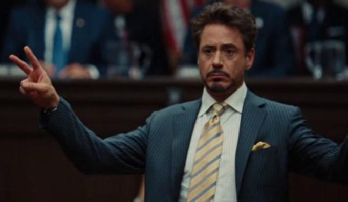 Fotogramma tratto da Iron Man 2 (2010).