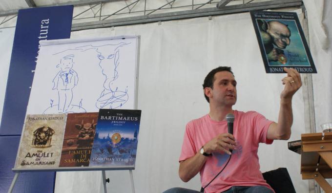 Jonathan Stroud pressoFestivaletteratura 2010.