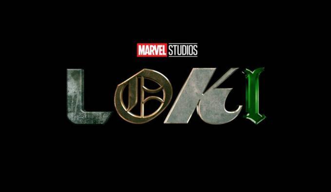 Il logo della serie tv Loki di Disney+