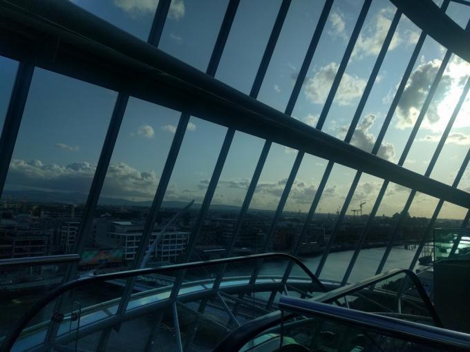 Il cielo di Dublino sopra la WorldCon