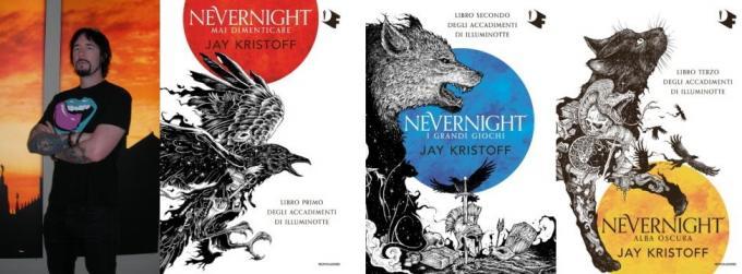 Jay Kristoff e la saga di Nevernight