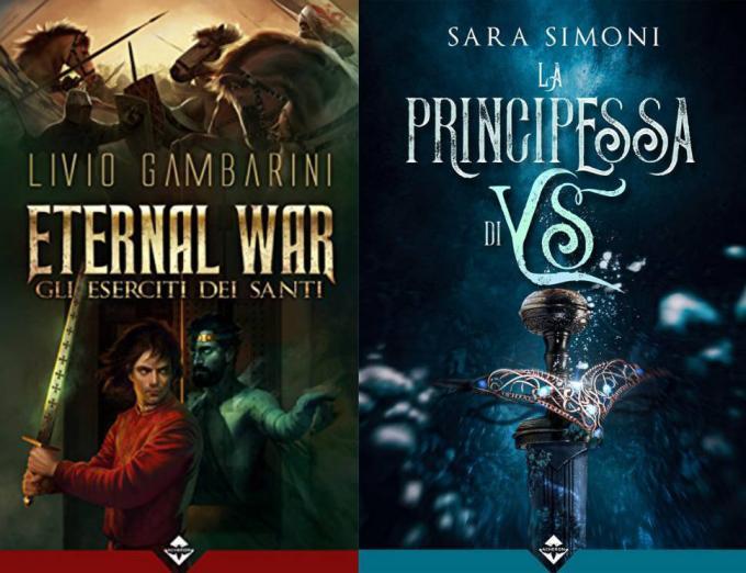 Acheron Books a Lucca Comics & Games. Livio Gambarini, Eternal War: L'esercito dei santi. Sara Simoni, La principessa di Ys.