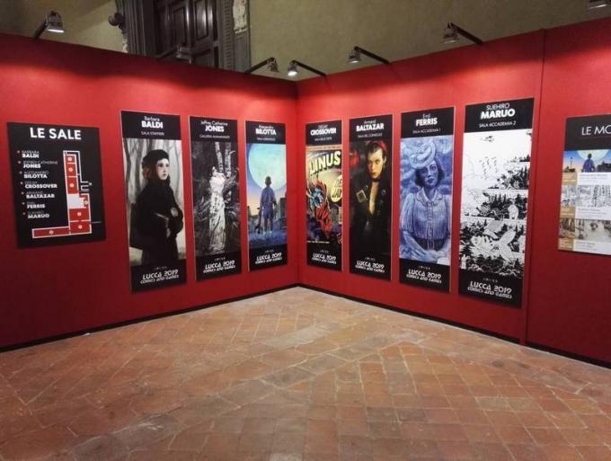 Le mostre di Palazzo Ducale a Lucca Comics & Games 2019.
