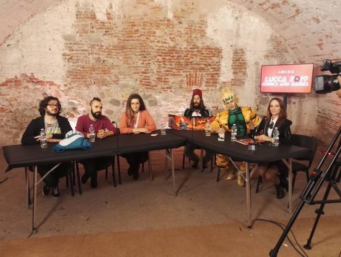 RPG Night Live Special D&D. Antonio Bellotta, Fabio Kenobit Bortolotti, CKibe, Nicola De Gobbis, Leon Chiro ed Emanuela Pacotto