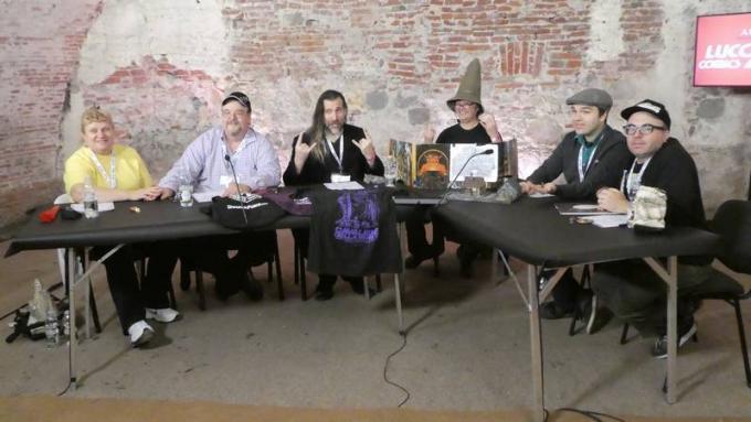 RPG Night Live Special D&D. Jeff Grubb, Seth C. Polansky, Stefan Pokorny, Gavin Verhey e Brian Stillman.