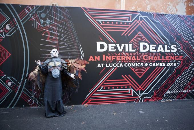 Dungeons & Dragons Devil Deals a Lucca Comics & Games