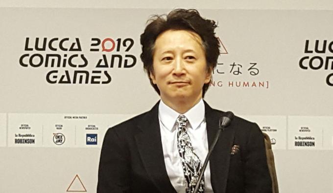 Hirohiko Araki a Lucca Comics & Games.