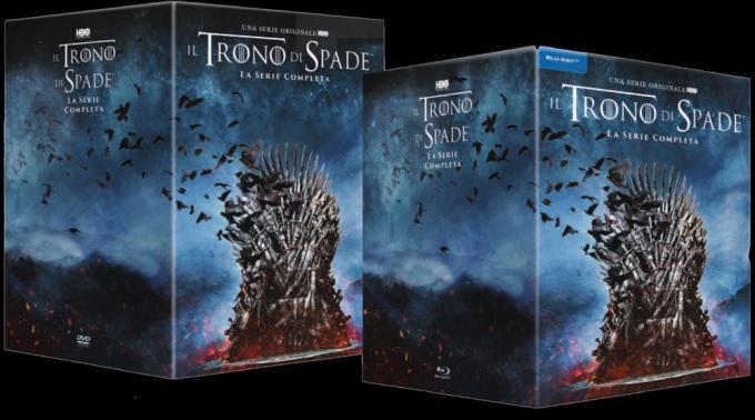 Il Trono di Spade la serie completa