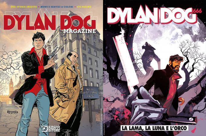 Dylan Dog Magazine 2020 e n. 403, La lama, la luna e l'orco