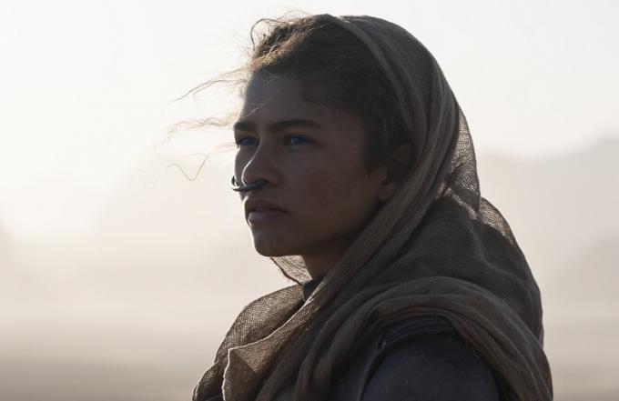 Zendaya è Chani in Dune di Denis Villeneuve