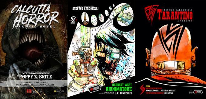 Le novità di Independent Legions Publishing: Calcutta Horror, Herbert West Rianimatore e Tarantino.