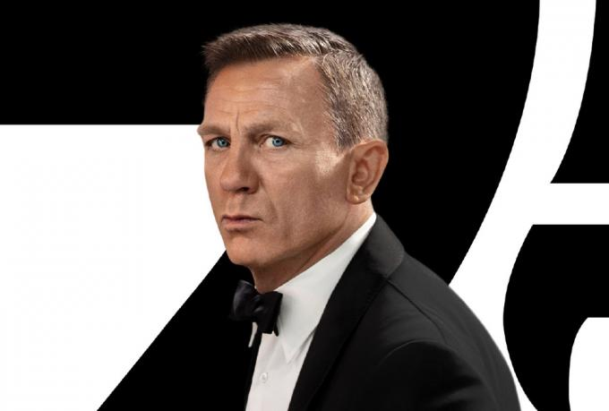 Daniel Craig è James Bond in No time to die