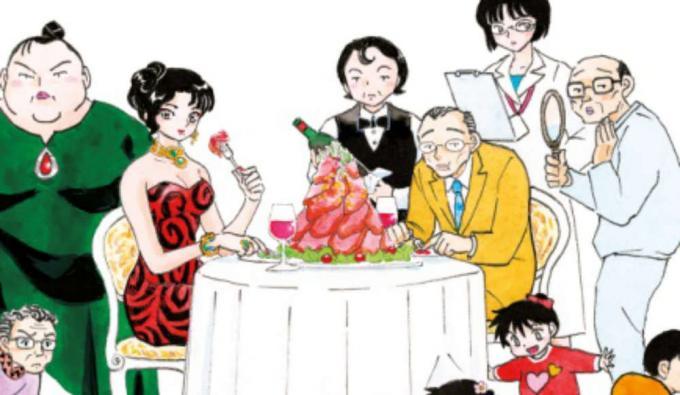Rumiko Takahashi, A cena con la strega