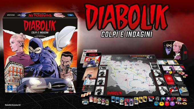 Diabolik - Colpi e indagini