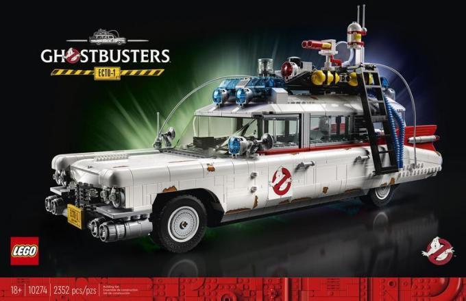 La nuova ECTO-1 LEGO dei Ghostbusters