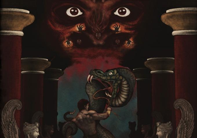 La leggenda di Eracle. Dalla copertina diSilvia Perosino