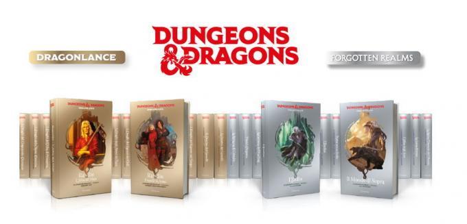 La collana Dungeons & Dragons di Hachette
