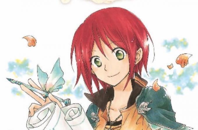 Shirayuki dai capelli rossi