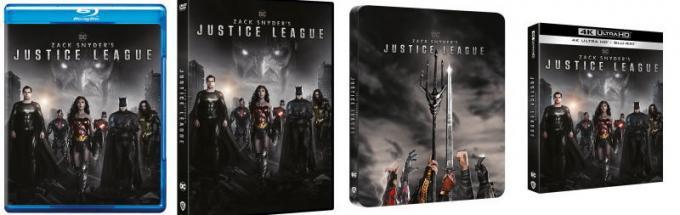 Le versioni home video di Zack Snyder's Justice League