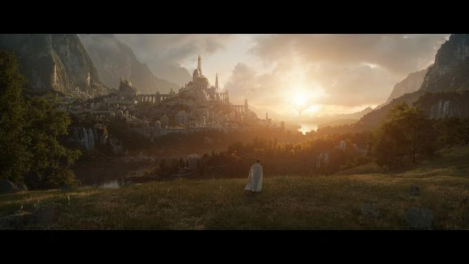 La prima immagine da The Lord of the rings, il 2 settembre 2022 su Amazon