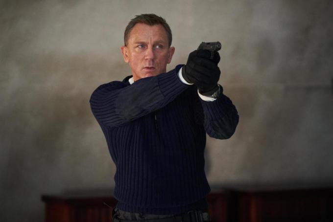 Daniel Craig in No time to die