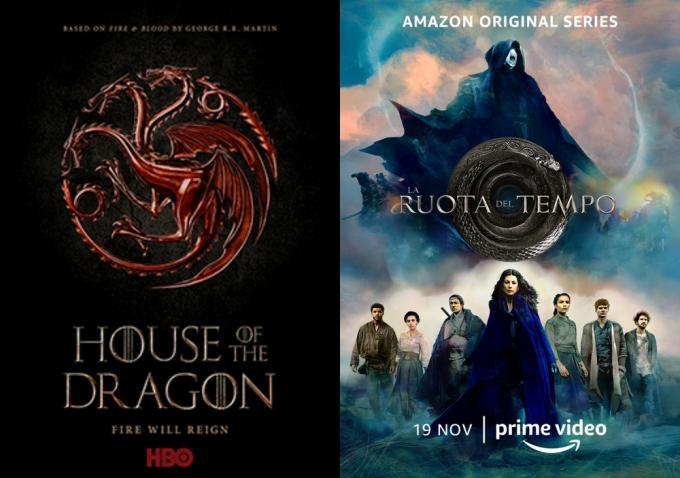 House of the dragon e La ruota del tempo