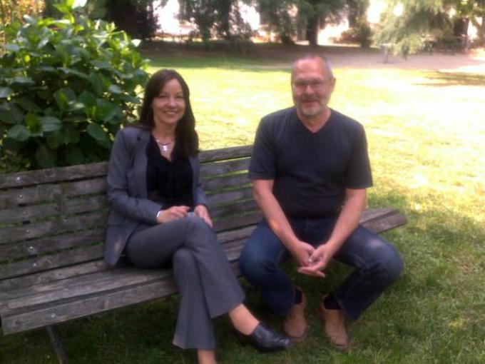 Olga e Andrej Dugin a Milano