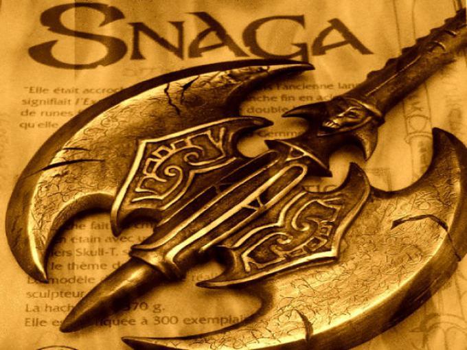 Un'imaggine di Snaga, la cui fedele riproduzione è il Legend Prize.