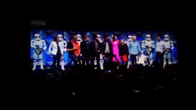 Tutti i partecipanti al Panel di Star Wars: Il risveglio della Forza