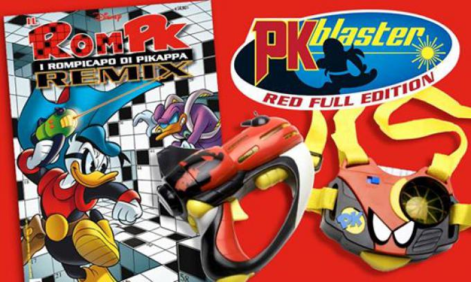 La cover di RomPK e il Blaster Red Full Edition