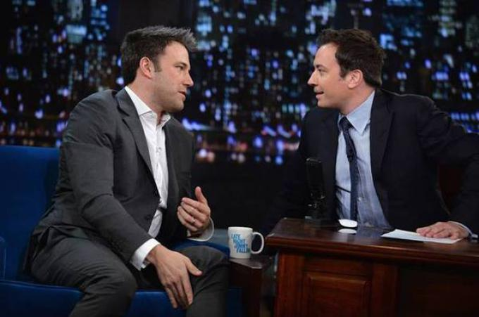 Ben Affleck ospite del talk show Late Night with Jimmy Fallon