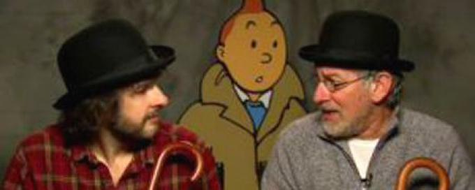 Peter Jackson, Tin Tin e Steven Spielberg