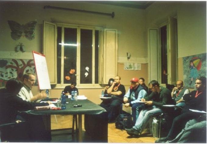Un'immagine da un educational lucchese del 2010.
