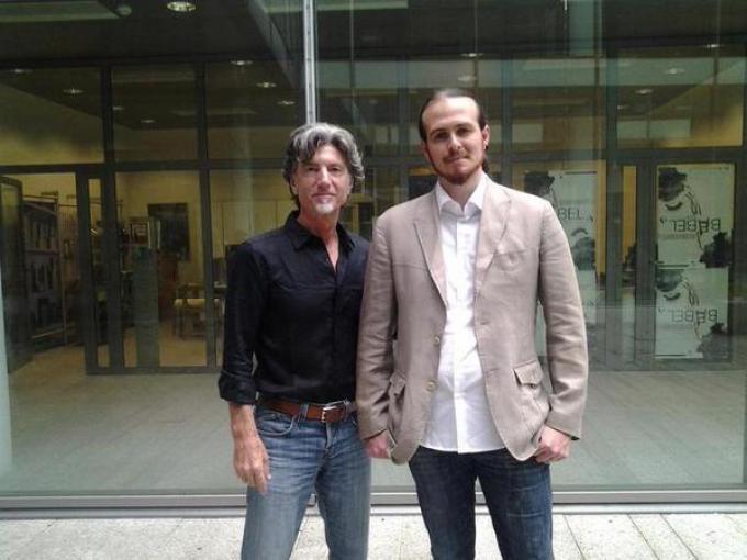 Andrea Atzori e Anthony LaMolinara