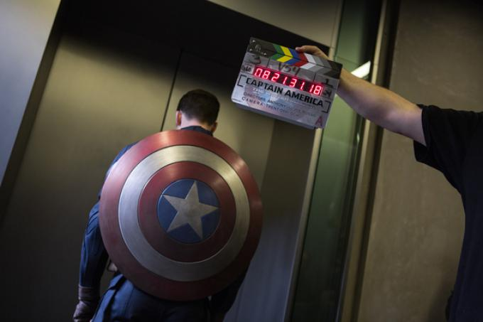 Chris Evans aka Captain America