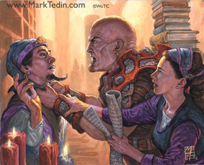 Un'illustrazione di Mark Tedin