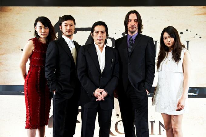 Il cast di 47 Ronin