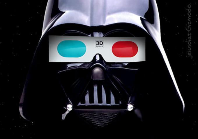 Darth Vader è pronto al 3D