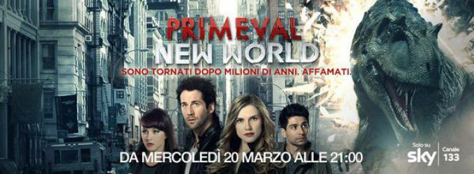 Il poster di Primeval New World