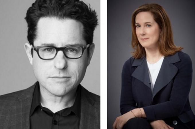 J.J. Abrams e Kathleen Kennedy