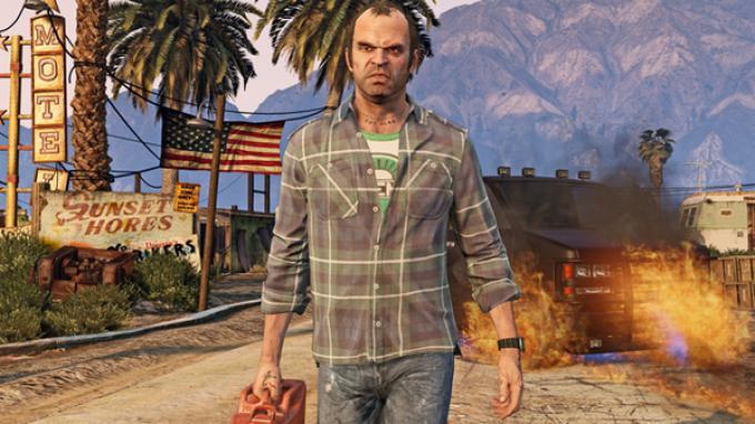 Trevor, uno dei tre protagonisti del gioco