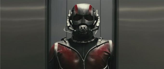 Una immagine delle riprese test per Ant-Man
