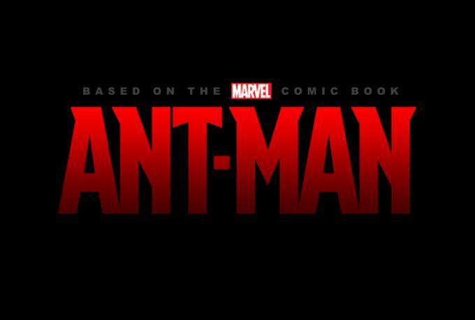 Il logo di Ant-Man, in uscita nel 2015