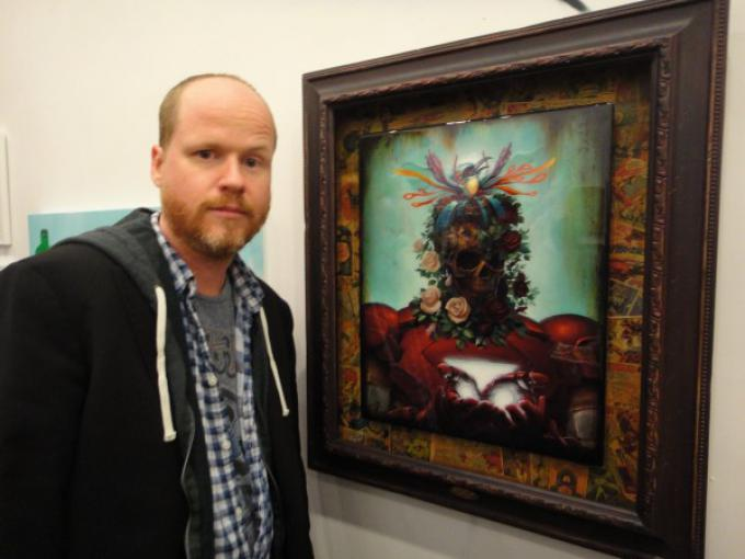Joss Whedon e Iron Man in stile Arcimboldo