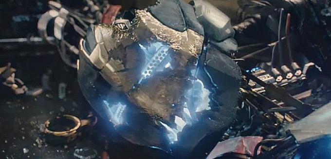 Una drammatica immagine dal nuovo spot di  Avengers: Age of Ultron