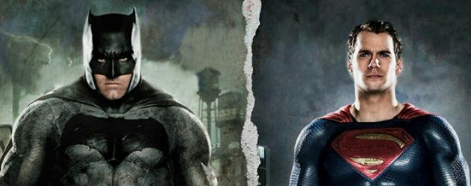 Un particolare della copertina del numero di Empire in uscita a settembre 2015, con Batman (Ben Affleck) ed Henry Cavill (Superman)