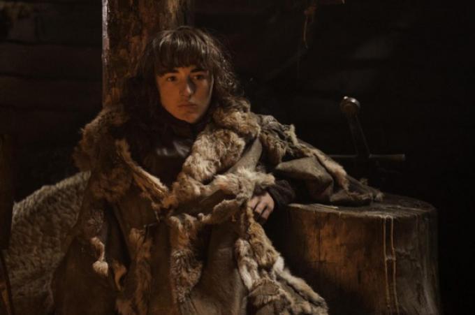 Isaac Hempstead-Wright alias Bran Stark in Il trono di spade