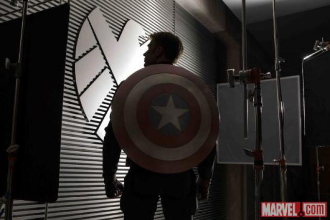 Prima immagine ufficiale dal set di Captain America: The Winter Soldier