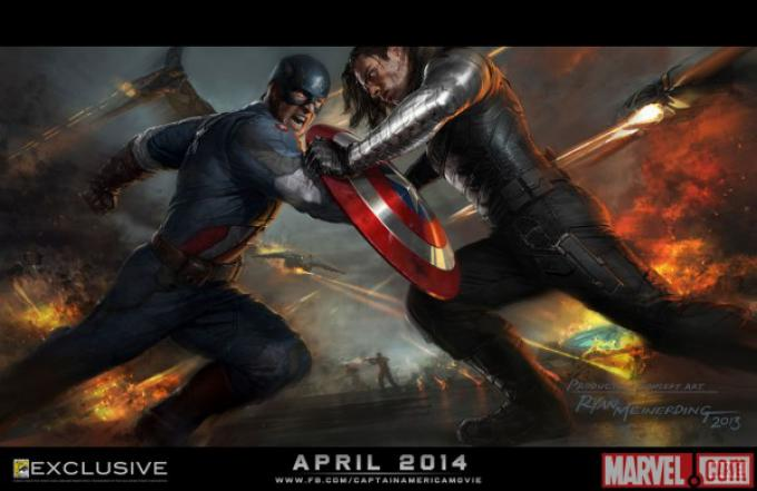 Concept poster per Captain America: The Winter Soldier