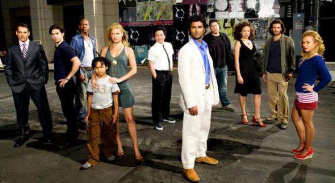 Il cast della prima stagione di Heroes